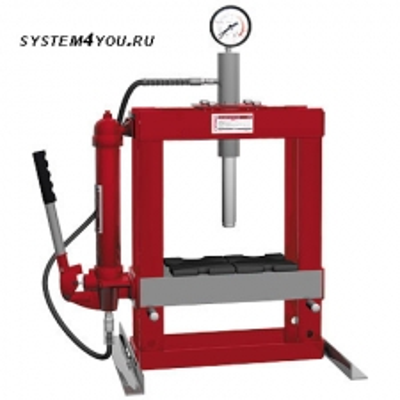 System4you SP10T гидравлический  ручной настольный пресс (10 т)
