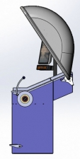 Балансировочный станок Proxy 5 вид сбоку