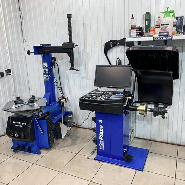 Шиномонтажный станок System4you Smart TC24