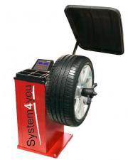 Стенд для балансировки колес SS-500 полуавтоматический