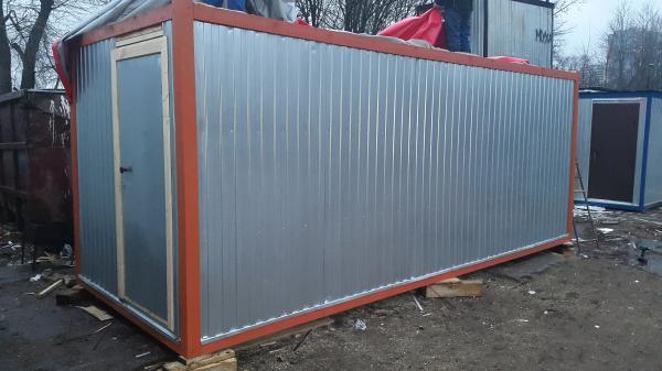 Блок-контейнер 6,0*2,4м с тамбуром
