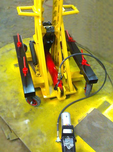 Фото 1 Анкерная система напольного типа для грузовиков NS-24