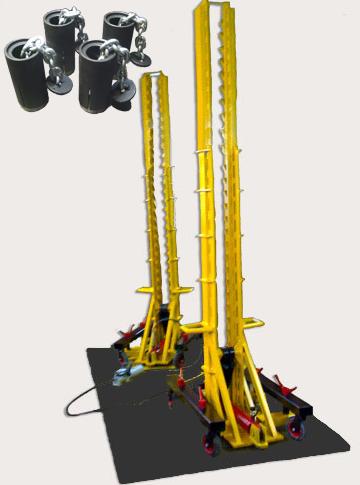 Анкерная система напольного типа для грузовиков NS-24