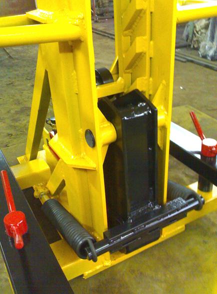 Фото 3 Анкерная система напольного типа для грузовиков NS-24
