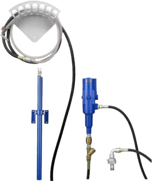 Система для отсоса масла Прессол 19900 с пневмонасосом