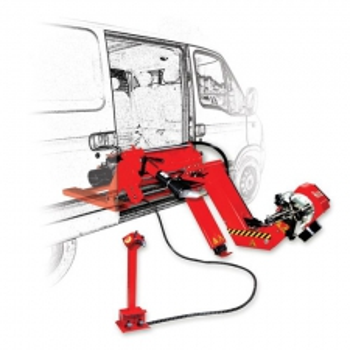 Мобильный грузовой шиномонтажный станок Atek Mobile Allegro 6500