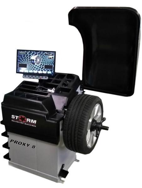 Стенд виброконтроля и балансировки колес СТОРМ Proxy-8 (220)