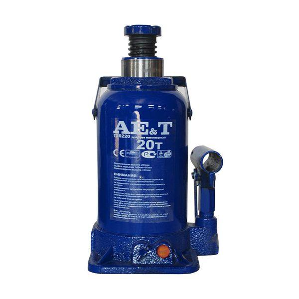 Домкрат бутылочного типа T20220. Грузоподъемность 20 т.