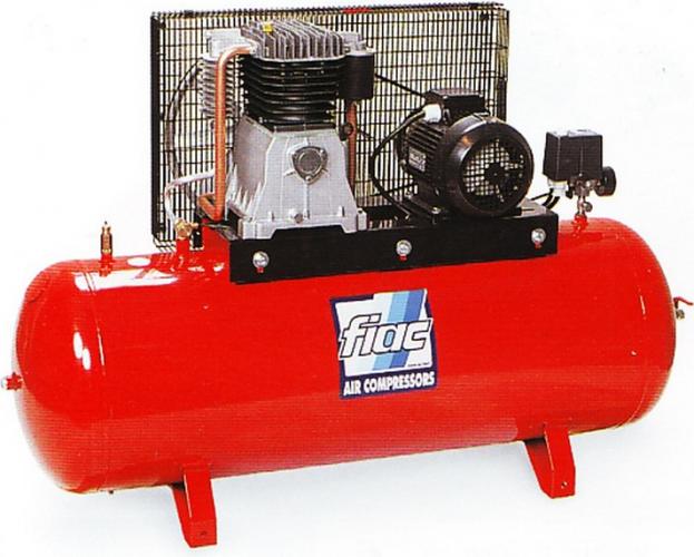 масленный поршневой компрессор с ременным приводом FIAC AB 100-678