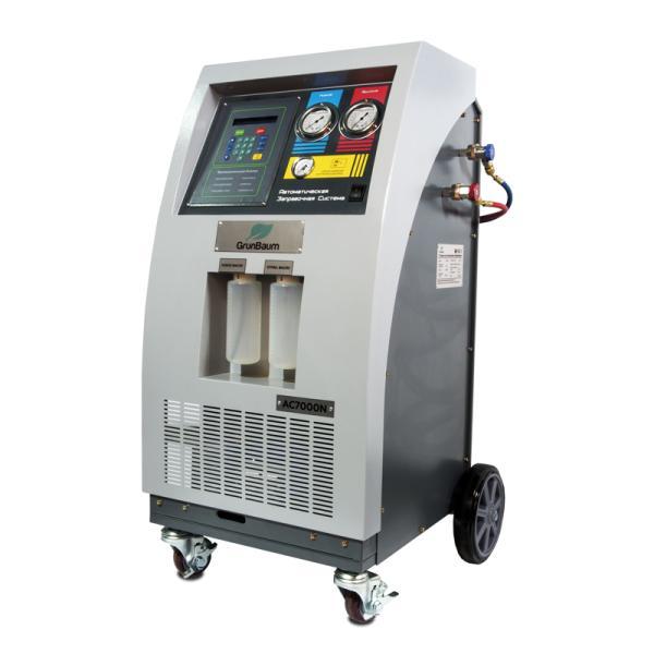 Автоматическая установка для заправки автокондиционеров GrunBaum AC7000N