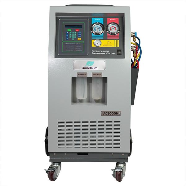 AC8000N BUS  автоматическая заправка систем кондиционирования