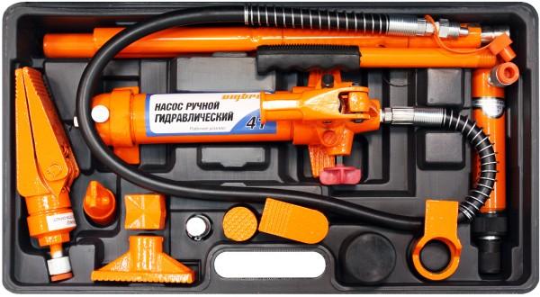 OMBRA OHT948M Набор гидравлического инструмента для кузовного ремонта 4 т, 18 предметов