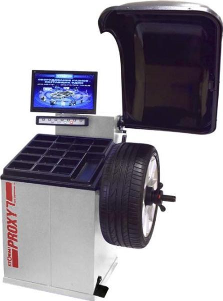 Станок для балансировки колес СТОРМ Proxy-7 Light S на 220В