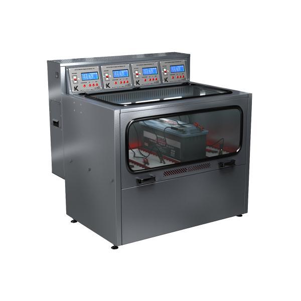 Зарядно-десульфатирующий шкаф для зарядки акб Светоч-04-04.40B.50A.R18A(250Вт).ЖК