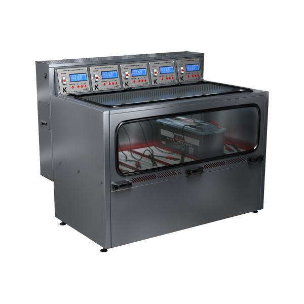 Зарядно-десульфатирующий шкаф для зарядки акб Светоч-04-05.40B.50A.R18A(250Вт).ЖК