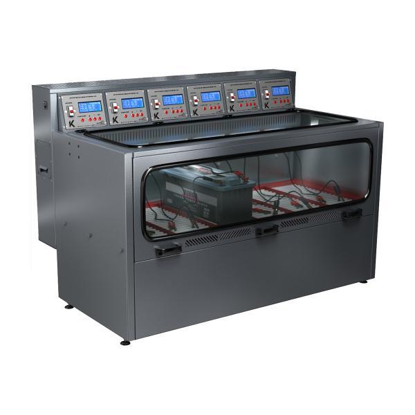 Зарядно-десульфатирующий шкаф для зарядки акб Светоч-04-06.40B.50A.R18A(250Вт).ЖК