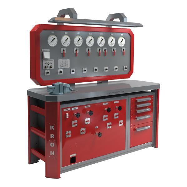 Стенд для проверки пневмооборудования автомобилей К-245