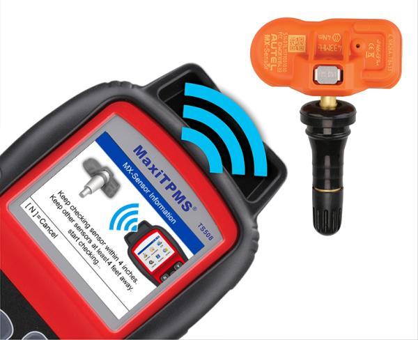 Автосканер Autel MaxiTPMS TS608