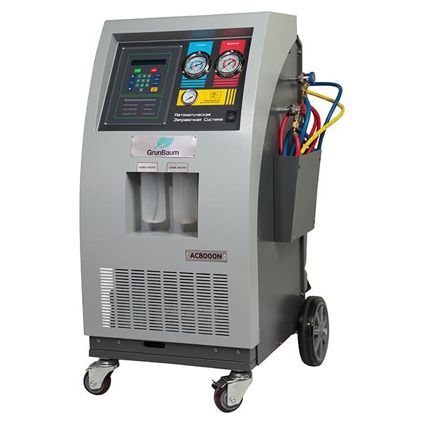 Автоматическая установка для заправки автокондиционеров GrunBaum AC8000N BUS
