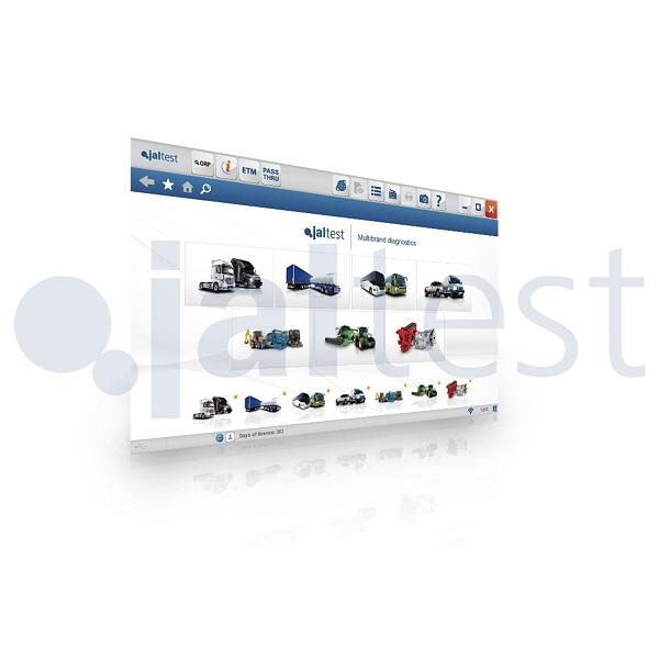 Модуль ПО Jaltest LTL + INFO Online