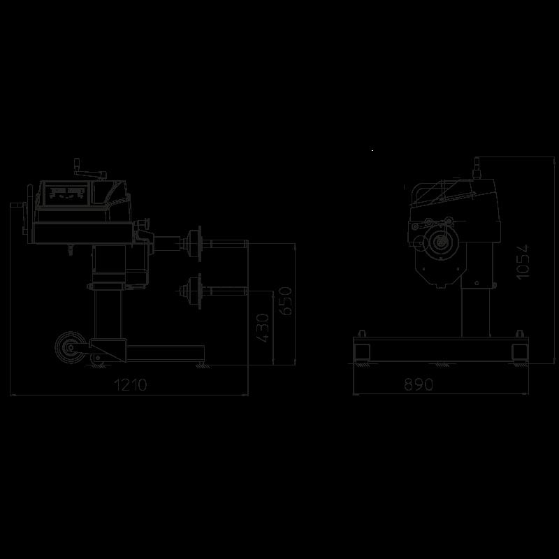 Балансировочный станок грузовой CEMB C206