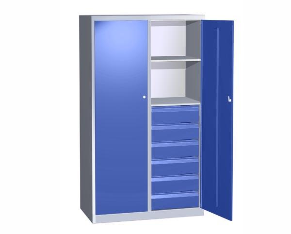 Шкаф металлический АС–1529С1