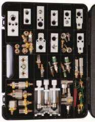 Комплект для восстановления фреона и промывки систем кондиционирования автомобилей Audi/VW