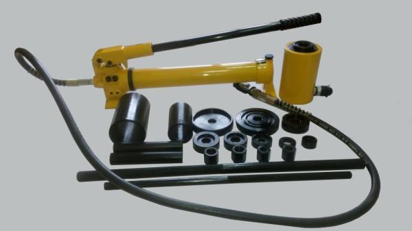 Съемник ТТН-20 гидравлический для выпрессовки и запрессовки сайлентблоков