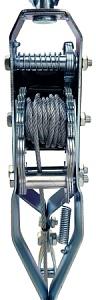 Лебедка рычажная гаражная SDB8020-1 2.0 т
