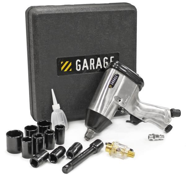Гайковерт пневматический Garage GR-IW 315 с набором головок (УТ-00000047)