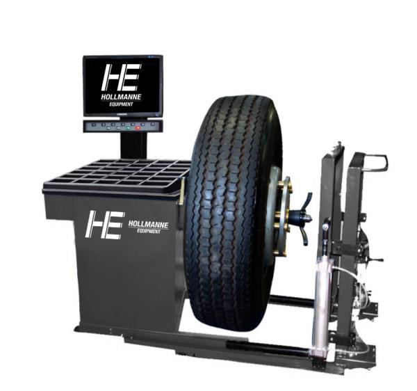 Балансировочный станок грузовой Hollmanne 9300PM