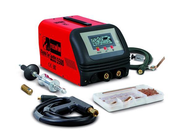 Аппарат точечной сварки Telwin DIGITAL CAR SPOTTER 5500 230V + ACC.