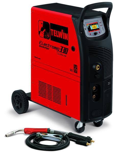 Сварочный полуавтомат ELECTROMIG 330 WAVE 400V + ACC