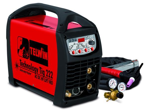 Сварочный аппарат TELWIN Technology Tig 222 AC/DC-HF/LIFT 230V+ACC