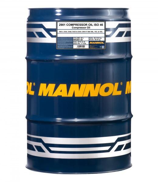 Компрессорное масло MANNOL Compressor Oil ISO 46 2901