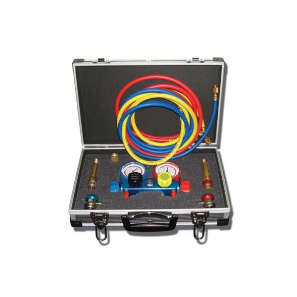 Четырехвентильный манометрический коллектор SMC-004