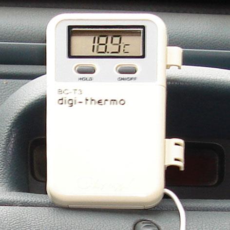 Термометр с гибким дистанционным зондом
