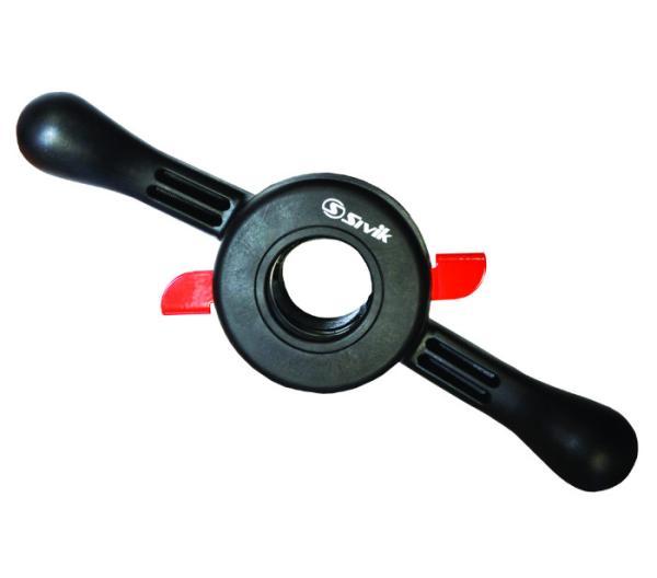 Гайка быстросъемная с прижимной чашкой и резиновым кольцом, 40х3мм Sivik