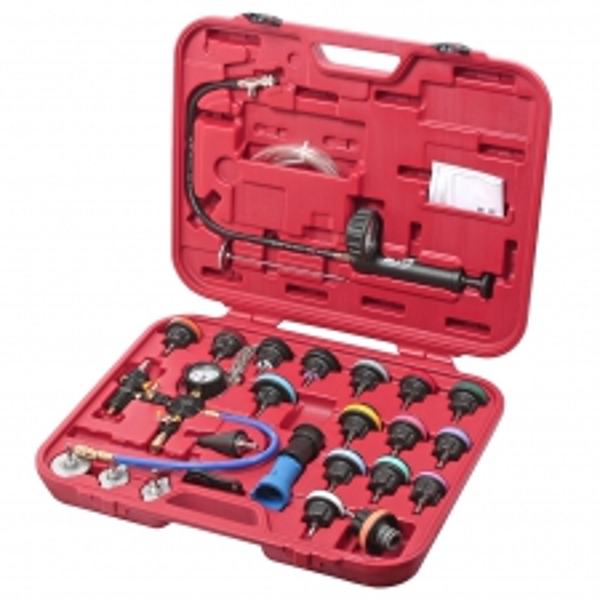 JTC Набор инструментов для тестирования давления в радиаторе 27 предметов (кейс) JTC
