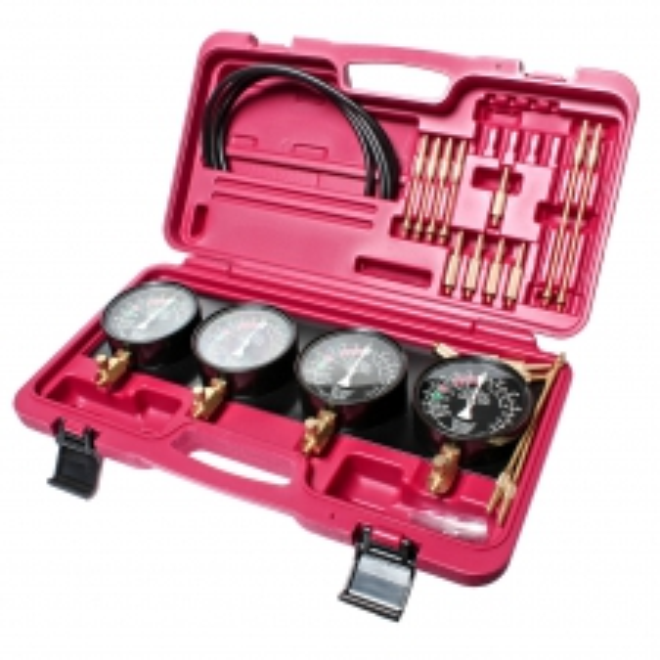 JTC Набор инструментов для тестирования насоса топливного карбюратора и его привода 32 предмета (кейс) J