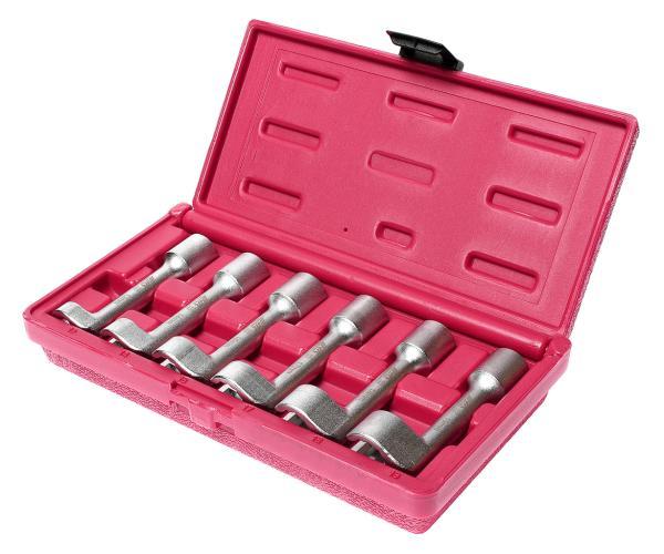 JTC Набор ключей разрезных 12-19мм 6 предметов JTC