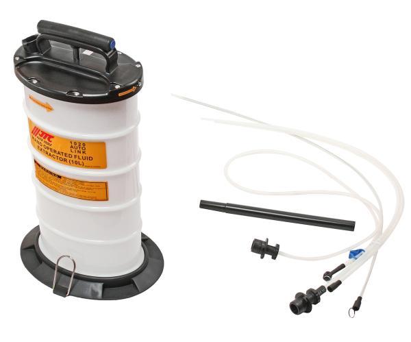 JTC Приспособление для откачивания технических жидкостей 10л JTC