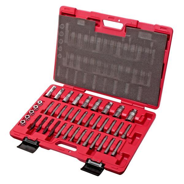 JTC Набор инструментов для разборки и сборки стоек универсальный в кейсе 39 предметов JTC
