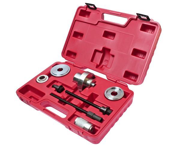 JTC Набор инструментов для демонтажа сайлентблоков рычагов подвески VW,AUDI A2 7 предметов (кейс) JTC