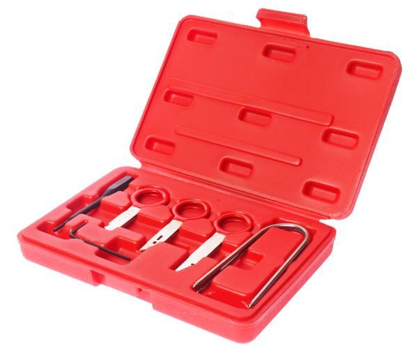 JTC Набор инструментов для демонтажа авторадиоаппаратуры 10 предметов в кейсе JTC