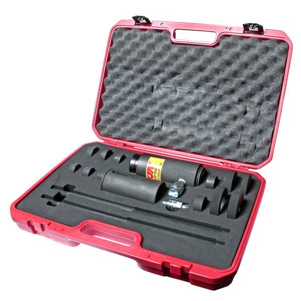 JTC Набор инструментов 15 предметов гидравлический 15т для снятия и установки шплинтов грузовых а/м JTC