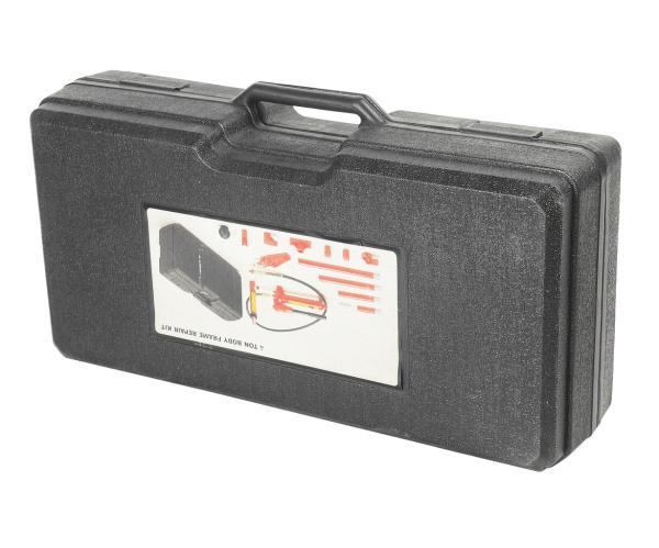 JTC Набор инструментов для кузовных работ гидравлический, усилие 4т в кейсе 17 предметов JTC