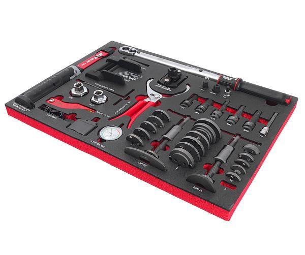 JTC Набор инструментов 41 предмет слесарно-монтажный в ложементе JTC