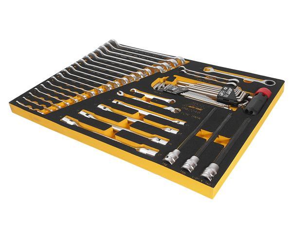 JTC Набор инструментов 48 предмета слесарно-монтажный (BMW) в ложементе JTC