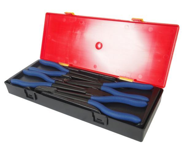 JTC Набор инструментов 4 предмета слесарно-монтажный (клещи удлиненные) в кейсе JTC